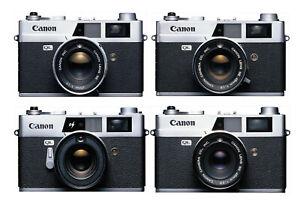 Canon Canonet QL17, QL19, QL19E, QL25 UV Filter and Lens Cap Protect Your Optics