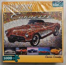 Photomosaics Classic Corvette 1000 Piece Puzzle Buffalo Games New Sealed