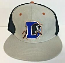 Durham Bulls Minor League Carolina Hurricanes Hockey Snapback Hat Cap