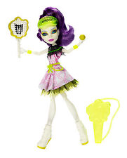 Monster High Spectra Vondergeist Ghoul Sports coleccionista muñeca raramente bjr13