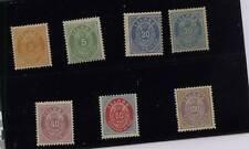 Iceland  15-20, 17a  Mint  nice lot catalog $1,530.00