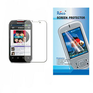 For Motorola Moto Smart XT390 Ultra Clear Screen Protector Foil LCD Cover Guard
