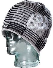 686 Shadow Black & Gray Beanie One Size Fits All NEW !!