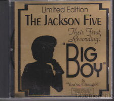 Jackson Five Their Firest Recording Big Boy Limited Edition Gold USA CD5 # 92944
