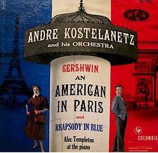 ANDRÉ KOSTELANETZ/TEMPLETON american in paris GERSHWIN+