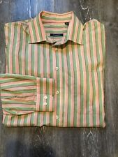 Mens Burberry London Dress Shirt Multi-color Size L USA Summer Spring Collection