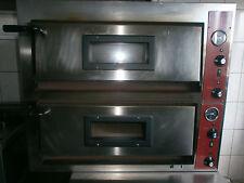Pizzaofen mit Zwei Etagen GGF Modell E 44A mit Steinboden