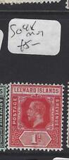 LEEWARD ISLANDS (P1610B)  KGV  1D  SG 48  MOG