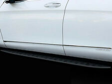S/S Body Side Line Moulding Protector Cover Garnish For Mercedes-Benz GLC 15-19