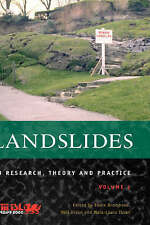 Landslides In Research Theory & Practice Volume 1 & 2 ISBN 0727728725 Bromhead