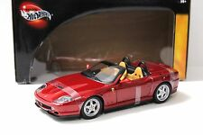 1:18 Hot Wheels Ferrari 550 Barchetta wine red NEW bei PREMIUM-MODELCARS