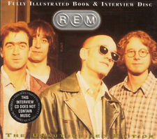 R.E.M. ‎– Fully Illustrated Book & Interview Disc CD NEW REM