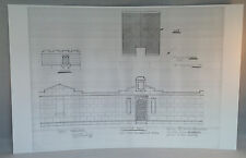 "Dark Shadows Blueprint 11""X17"" Glossy Print-Mausoleum Walls -Bonus Gift"