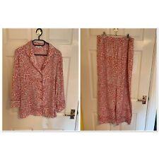 Pink John Lewis Lightweight Pyjamas Size Large (A7955)