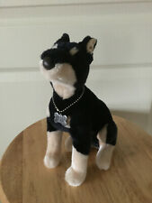 Plush Doberman Pinscher Dog Stuffed Animal