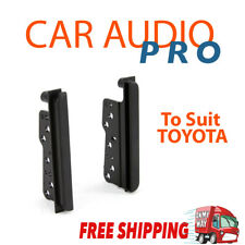 To Suit Toyota HILUX 2005-2011 radio side trims stereo facia kit 2 din double fa