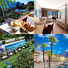 TESSIN Ascona 2ÜF-2P Reise 4*Hotel + Lago Maggiore Seeblick, am Monte Verità
