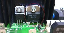 1* Reparatur Saeco Stratos Brühgruppe blockiert angezeigt Z-Diode Transistor TOP