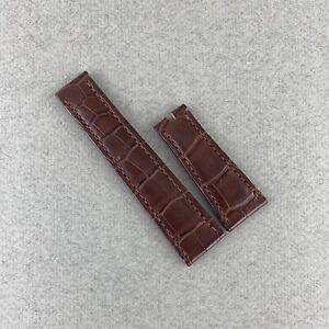 Rolex 339203 ASTD Brown Alligator Strap