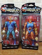 Thundercats Classic Lion-O Tygra Ban Dai Action Figures