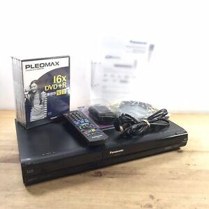 Panasonic DMR-EX773 (160GB) DVD Player / Recorder Remote; Manual & HDMI cable