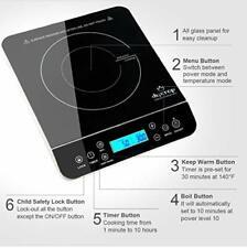 Duxtop Portable Induction Cooktop, Countertop Burner 1800 Watts,9600Ls/Bt-200Dz