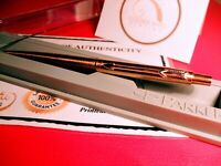 18ct Rose Gold Plated Parker Flighter Ball Point Writing Pen Gift Boxed Ink
