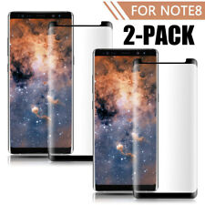 2 Pack Case Friendly Tempered Glass Screen Protector For Samsung Galaxy Note 8