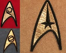 Star Trek TOS Original Series Insignia Patches - Set of 3 USS Enterprise Unifom