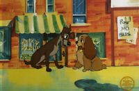 "Disney ""Lady And The Tramp"" LIMITED EDITION Serigraph Cel"