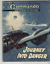 COMMANDO COMIC - No 1224   JOURNEY INTO DANGER
