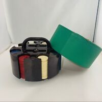 11.5 gm Tri Color Suits poker ROLL OF 25 GREEN