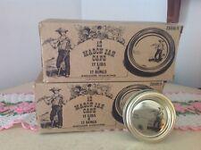 Vintage Anchor Hockng Mason Jar Caps/lids 12 Regular Jar Lids