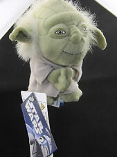 Star Wars Master Yoda Plush Toy Caricature BackPack Clip-On Key Ring Car Mirror