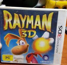 Rayman 3D -  NINTENDO 3DS - FREE POST *