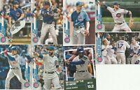 2020 Topps Series 2 Cubs Kris Bryant Ernie Banks Willson Contreras Rowan Wick