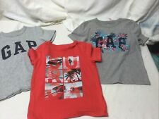 Toddler Boys Gap Kids Graphic Short Sleeve Tops Size 4T