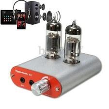6J9 Valve Tube Headphone Amplifier Audio HiFi Earphone AMP for iPod Phone MP3