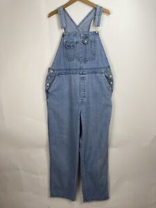 Vintage Bib Overalls Womens Size XL Jean Dungarees Baggy Relaxed HONORS