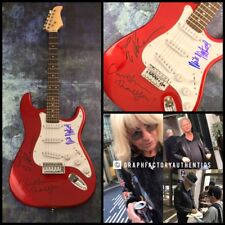 GFA Mick Lindsey Christine * FLEETWOOD MAC * Signed Electric Guitar PROOF COA