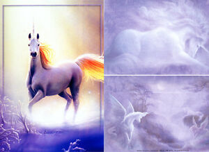 """TOUCHED BY THE AURORA by KIRK REINERT -""""TREE FREE"""" CARD"""