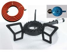 Wokbrander (driepoot) 7.5 KW - inclusief slang/  gasbrander / camping