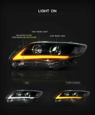 LED DRL Headlight For Toyota Corolla 2011 2012 2013 S Sedan LHS RHS From AU