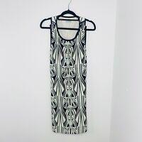 Kookai Women's Size 38 Geometric Print Body Con Dress