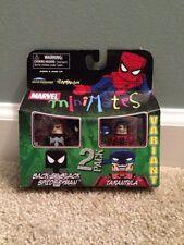 Marvel Minimates Series 24 Tarantula Variant Black in Black Spider-man