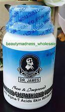 6 Dr James Pure Glutathione Skin Whitening Pill Skin Bleaching Capsules