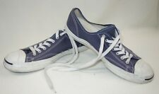 Vintage Converse Jack Purcell Unisex Canvas Sneakers Mens 11 Womens 12.5 Blue