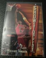 1997-98 Topps Finest - MICHAEL JORDAN Showstoppers  #271 W/ PEEL 🔥 HOF 💎 MVP