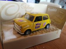 """1998 CORGI 1:36 scale  CLASSIC MINI CAR  """"CADBURY MINI EGGS"""" LIVERY MINT/BOXED"""