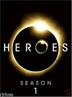 Heroes Season 1 DVD First 2007 7-Disc Set Zachary Quinto 025195008280